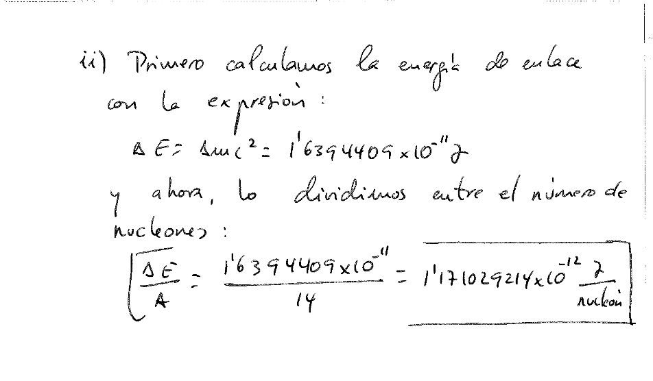 Ejercicio resuelto selectividad física nuclear-N-113